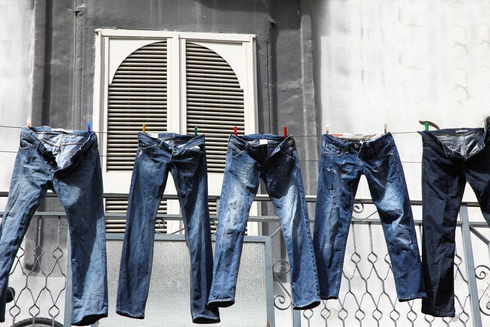 Washing denim is never a dry topic. Photo via Mainline Menswear