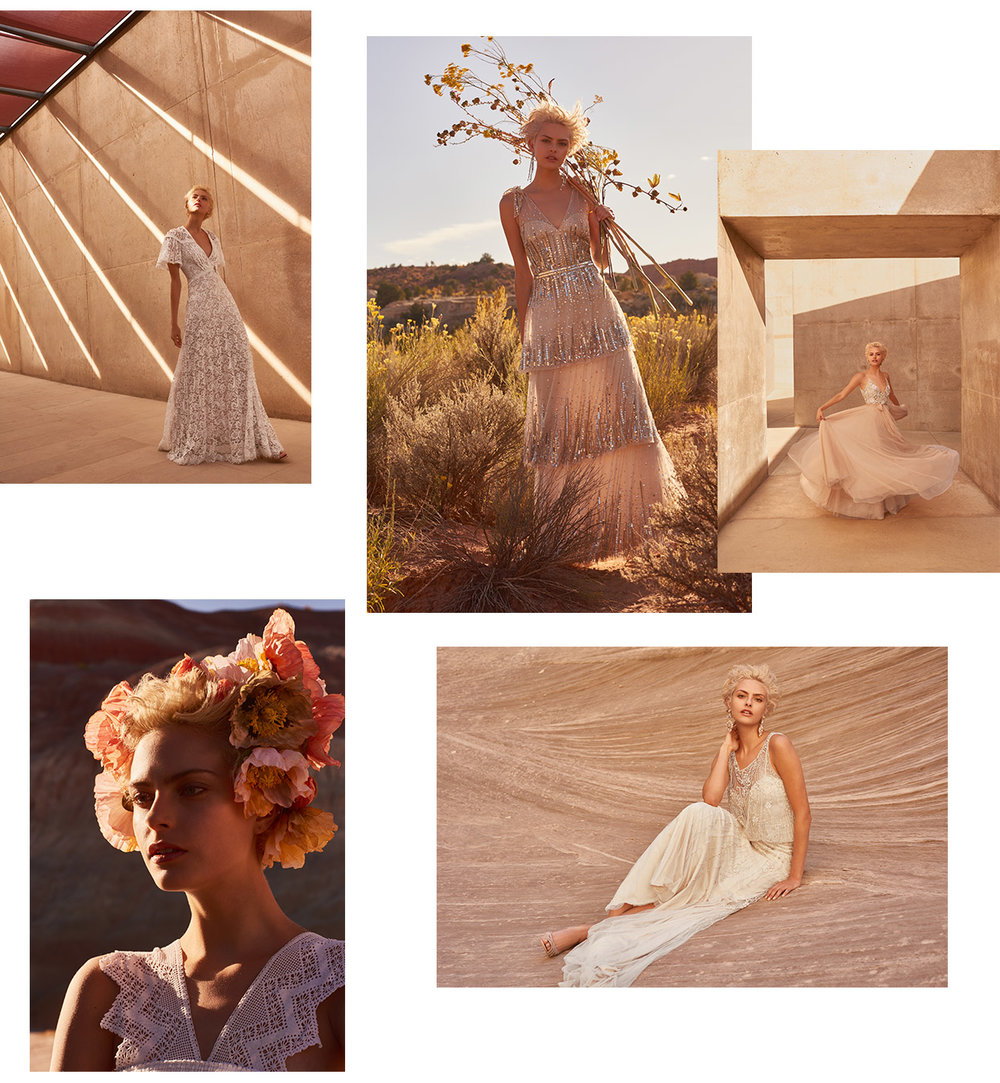 Images via bhldn.com - Desert Rose Spring Collection