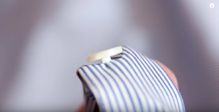 If you've ever noticed, European tailored shirts tend to feature a special cut that slims down the fit and adds to the style. GENTLEMAN'S GAZETTE / YOUTUBE