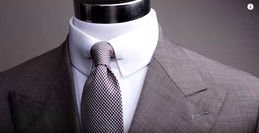 Collar stiffness may not be the most comfortable feature, but it definitely exudes an air of professionalism and clean cut behavior. GENTLEMAN'S GAZETTE / YOUTUBE