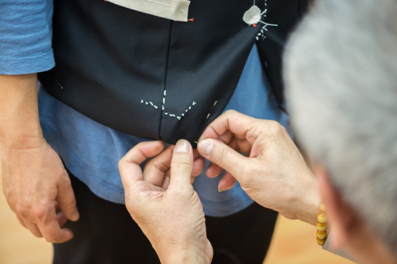 If clothes make the man, there's no doubt alterations that make the clothing!