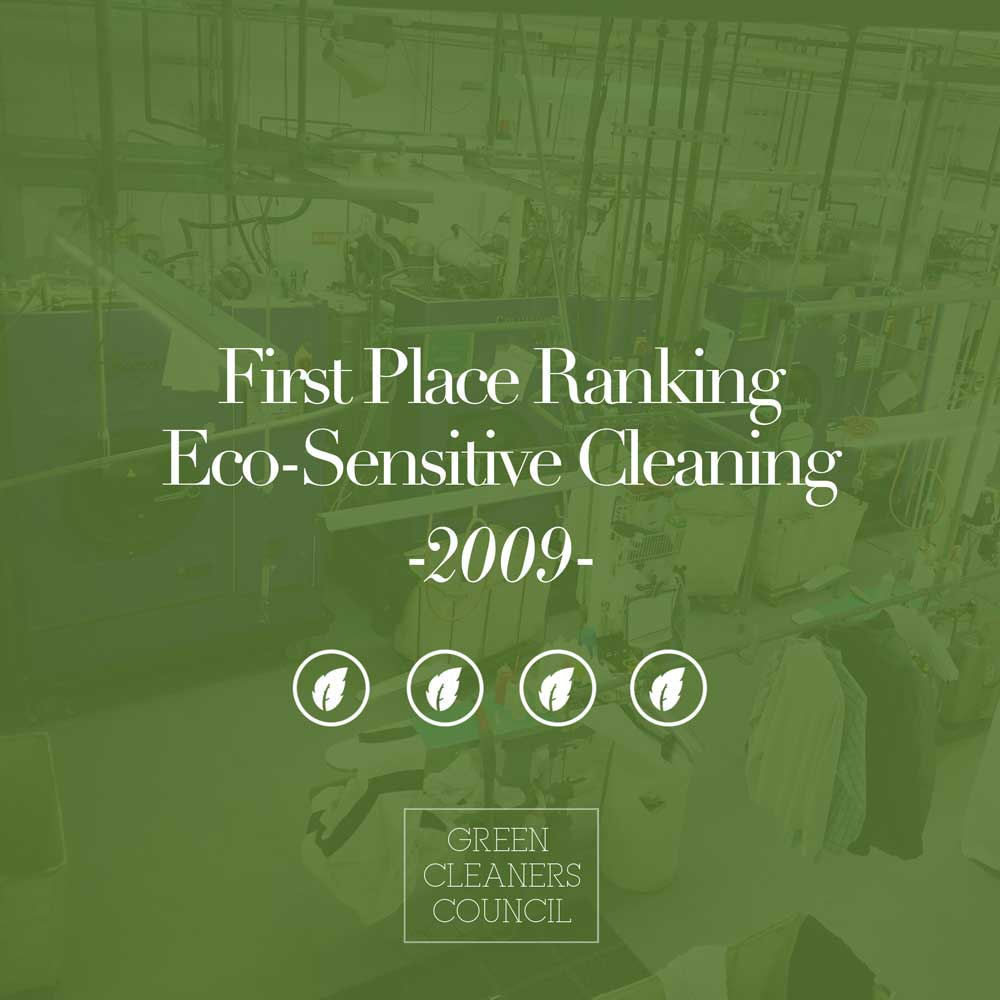 Meurice was awarded first place ranking in eco-sensitive cleaning in 2009.