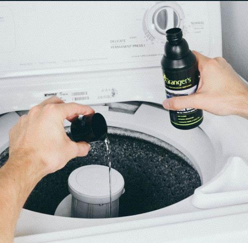 Use Granger's waterproofer detergent for maximum efficiency.