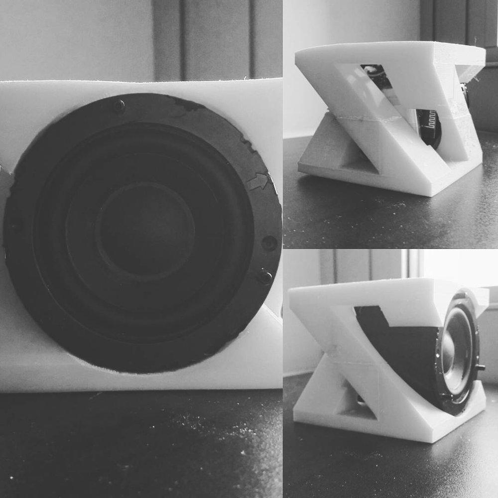 3D Printed Speaker Case