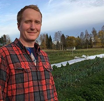 Gustaf Soderfeldt is a former pig farmer who used to manage a small-scale 'humane' meat business.