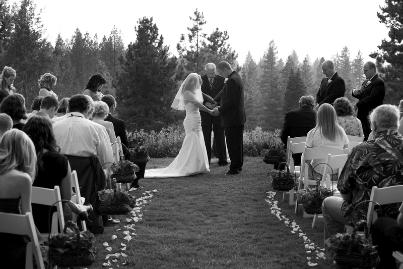 Ceremony Music - An add on to our standard wedding package Ceremony music and sound with wireless microphones for officiant, readers and more. Make sure your guests are part of your special ceremony with musical ambiance and being able to hear every special word you speak during your vows. ($500 value)