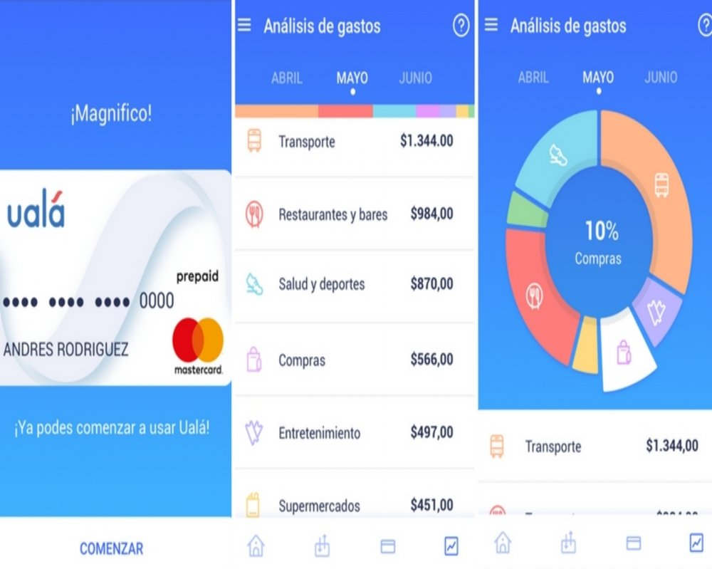 UALA - THE BUBBLE - mobile app Ualá aims to Replace Banks and serve the previously unbanked