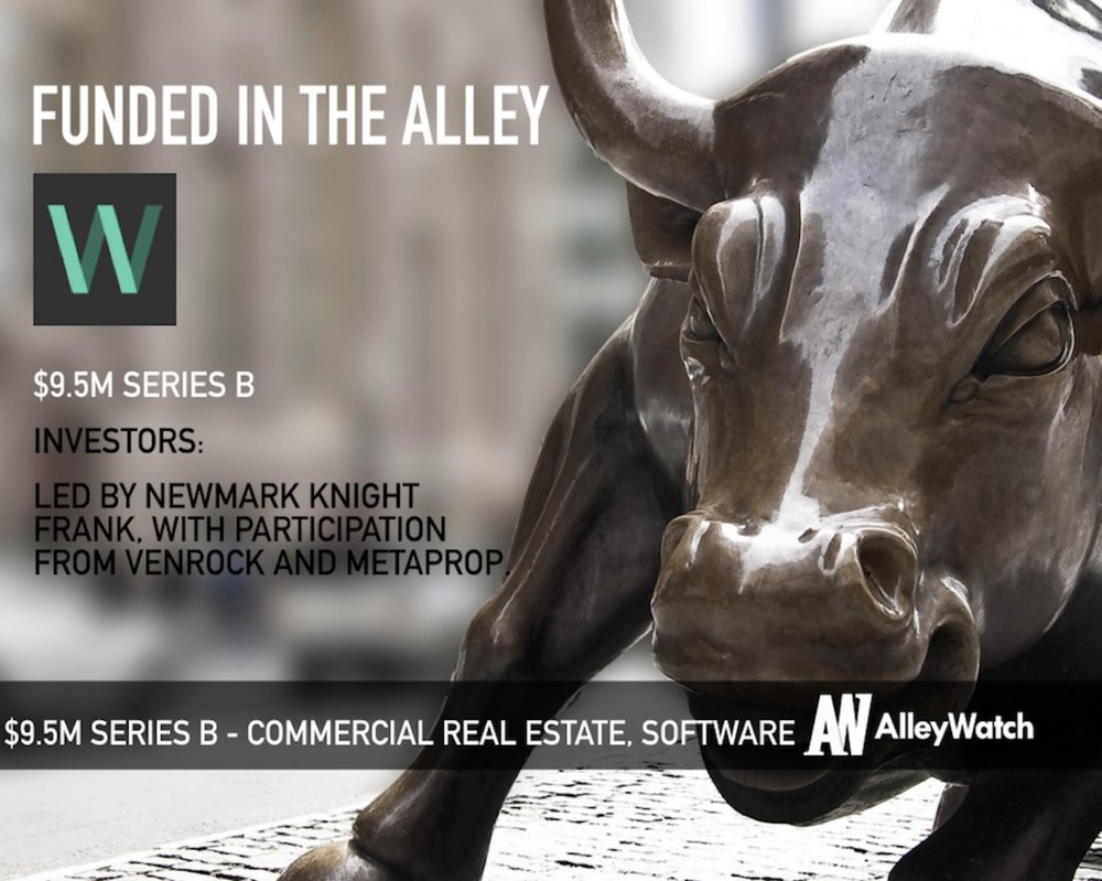 WORKFRAME - ALLEYWATCH - wORKFRAME Raised $9.5M to Drive Efficient Decision Making for real estate