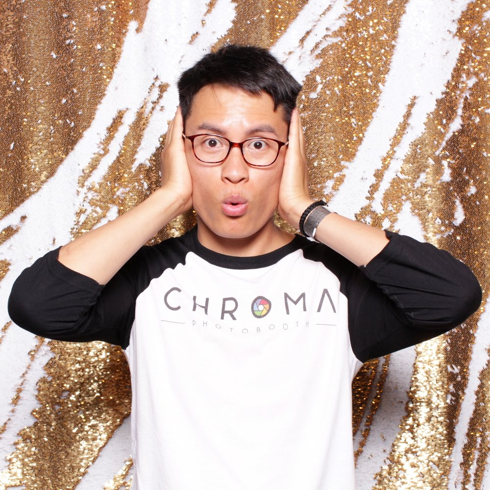 chroma photobooth carat MERMAID SEQUIN
