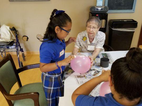 Kids and The Members of Oakwood Creative Care :: Bridging the Gap Between.jpeg