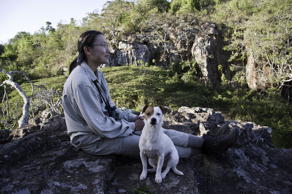 Photo of wenfei and barabara in kenya by Dino Martins