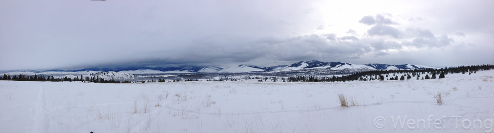 Cross-country skiing in Missoula