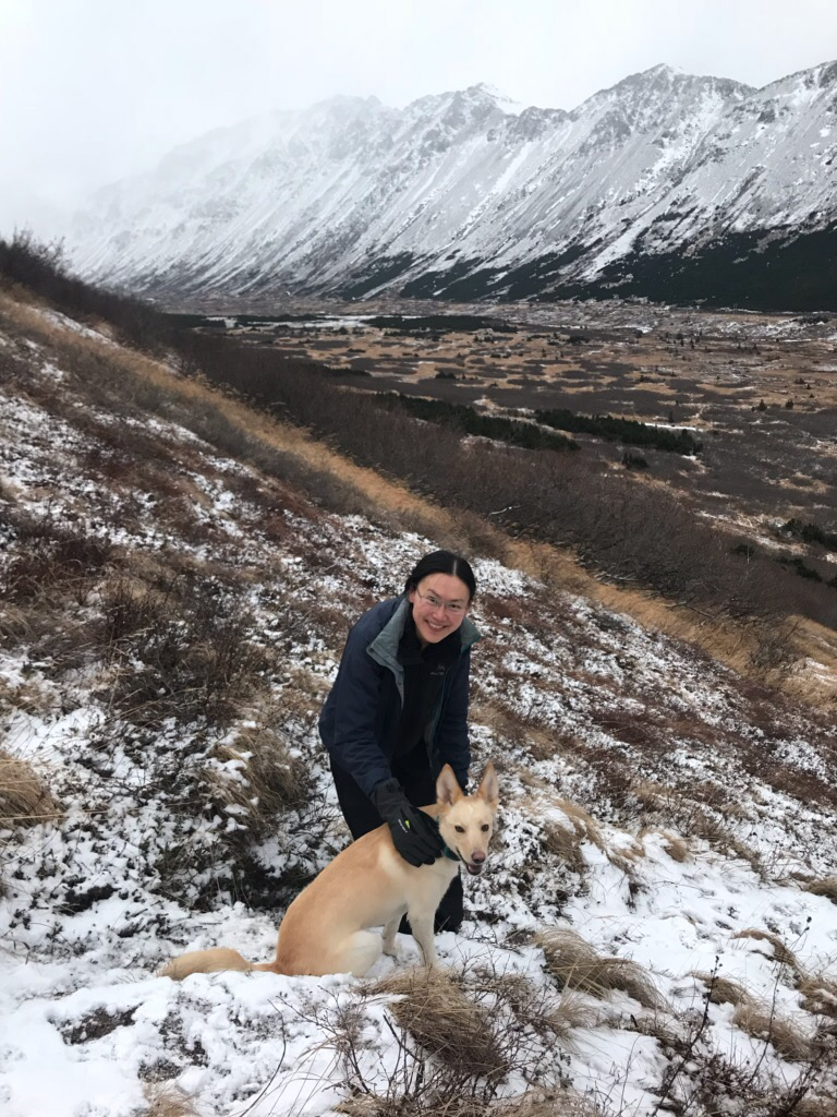 In the Chugach near Anchorage, Alaska with ANA. Photo by Erin Larson