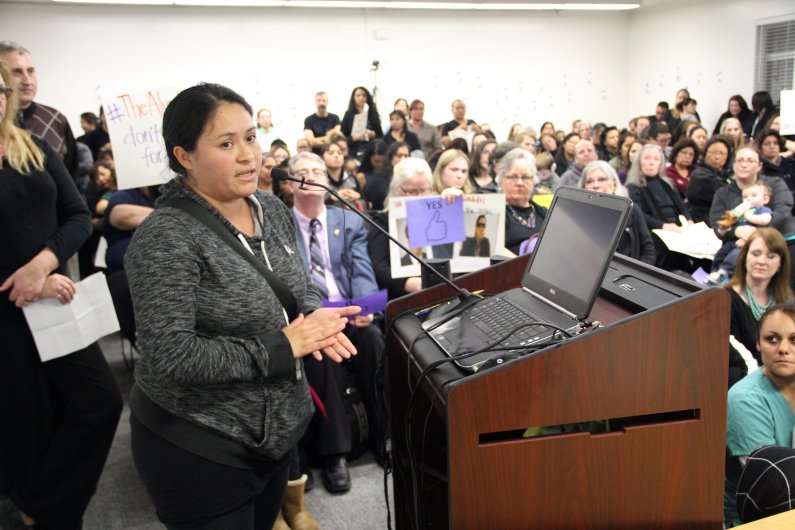 Alum Rock Parents Rally in Support of Superintendent - by Jason GreenSan Jose Mercury NewsJanuary 18, 2018