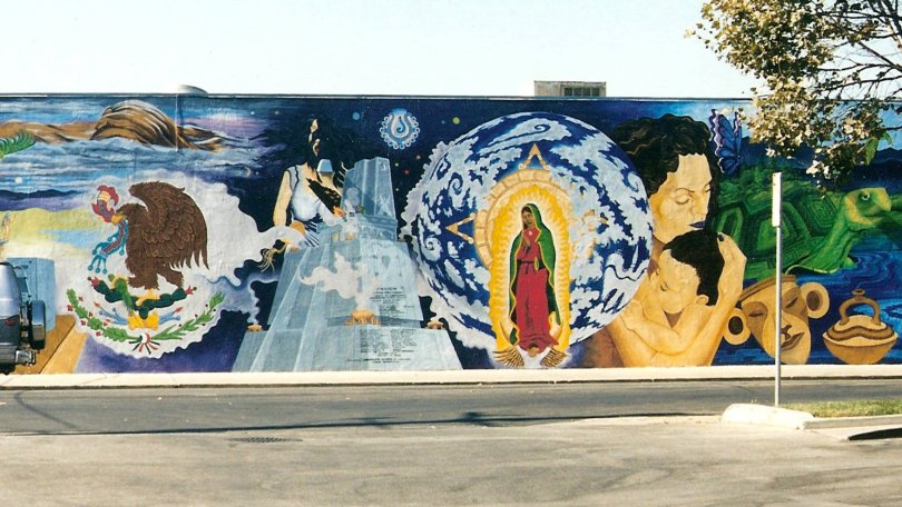 New details emerge about removal of San Jose's historic Mural de la Raza - by Leonardo CastanedaSan Jose Mercury NewsDecember 5, 2018