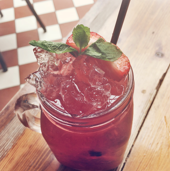 Mixed Berry Gin Mojito from Beckett & Bull