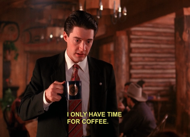 Agent Dale Cooper from Twin Peaks
