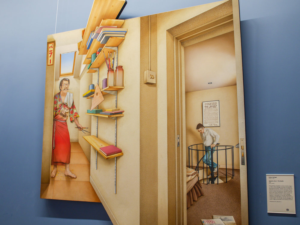 Upstairs, No. 4 - The Studio by Robert Ballagh
