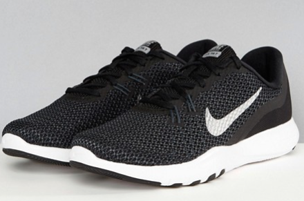 Nike Training Flex Trainers In Black.png
