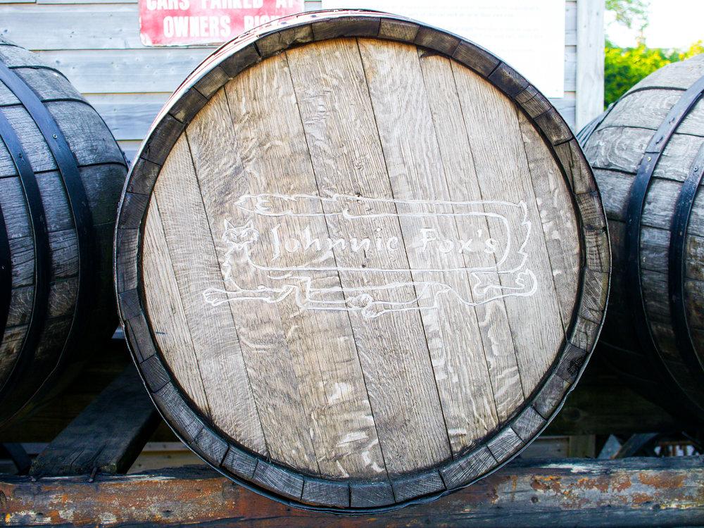 Barrel at Johnnie Fox's Pub