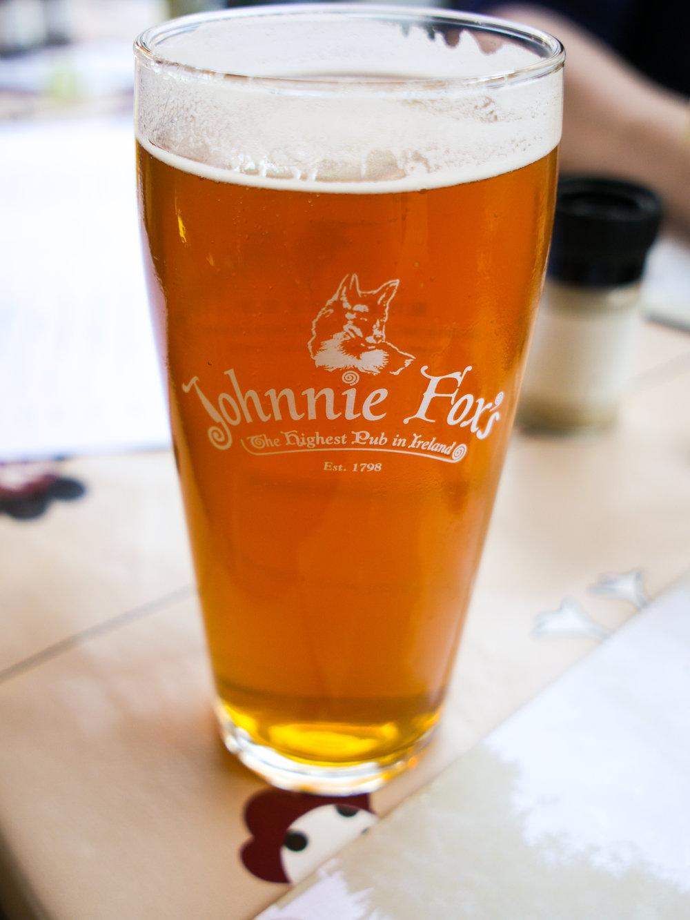 Johnnie Fox's Craft Pale Ale at Johnnie Fox's Pub