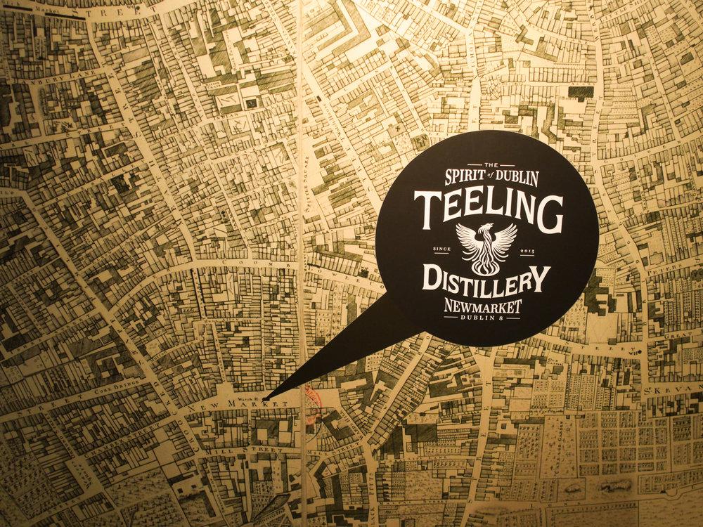 Teeling Distillery in Dublin, Ireland