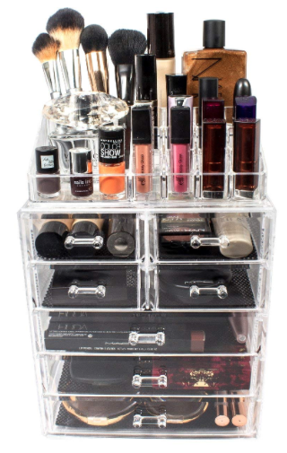 Cosmetic Makeup and Jewelry Storage Case .png