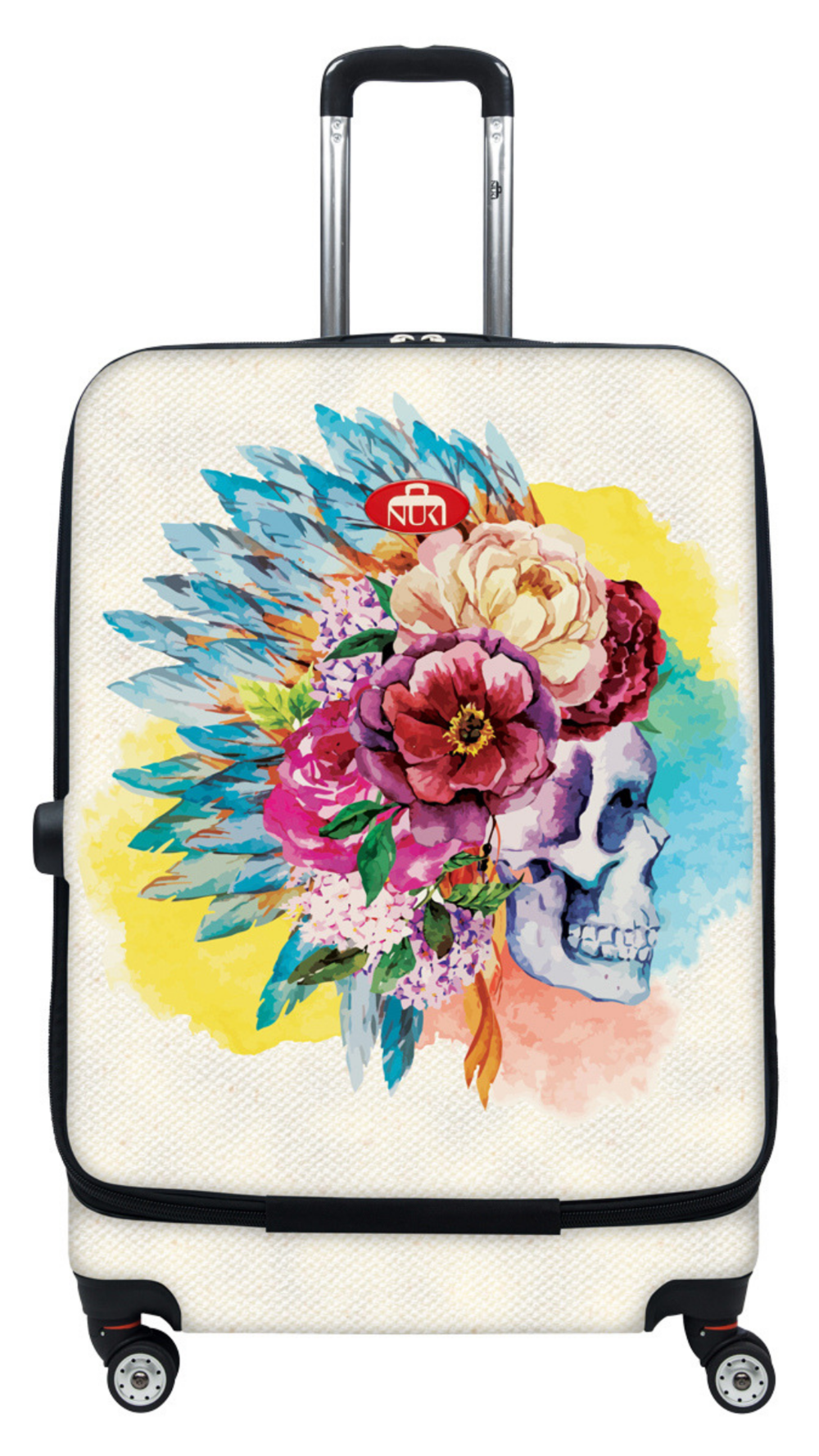 Floral Skull - Carry-On 20