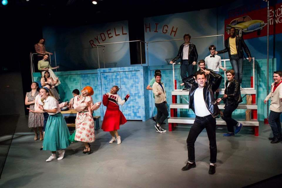 Sandy in Grease/Blackfriars Theatre (2017)