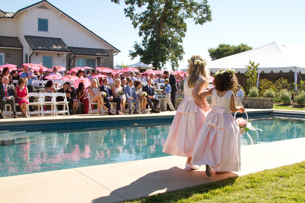 Glamorous Backyard Wedding -