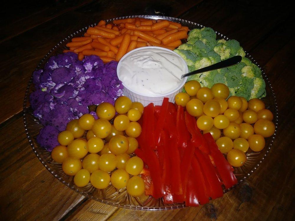 Veggie Platter $20