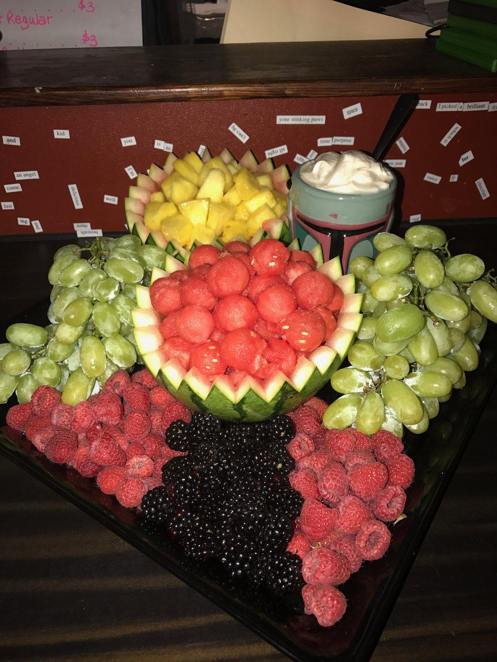 Fruit Plater $20