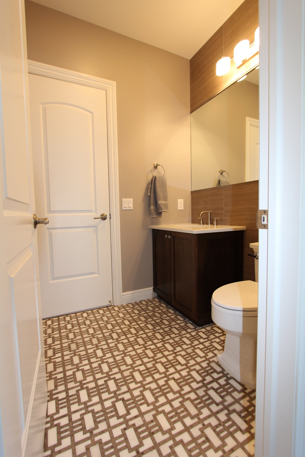 Transitional Main Bath