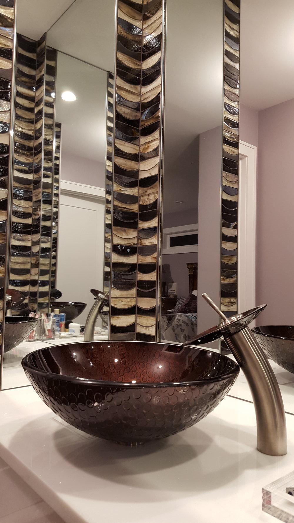 Master Bath Vanity Area- Outside Bath