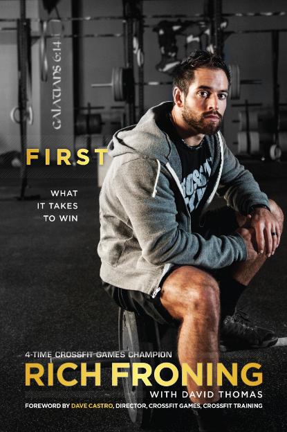 First: What it takes to win - by Rich Froning Jr. Without a doubt, Froning is the most legendary CrossFitter of all time, winning the Games 4 times in a row. This book is about his journey to become the fittest man in history, showing Froning as a calm and humble family father and Christian. It is also an interesting insight of the CrossFit Games then and now.