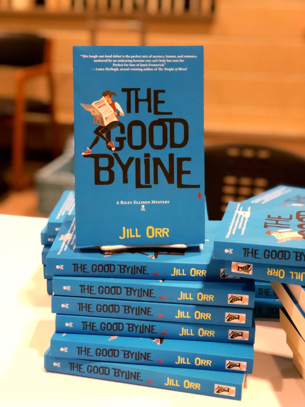 The Good Byline by Jill Orr