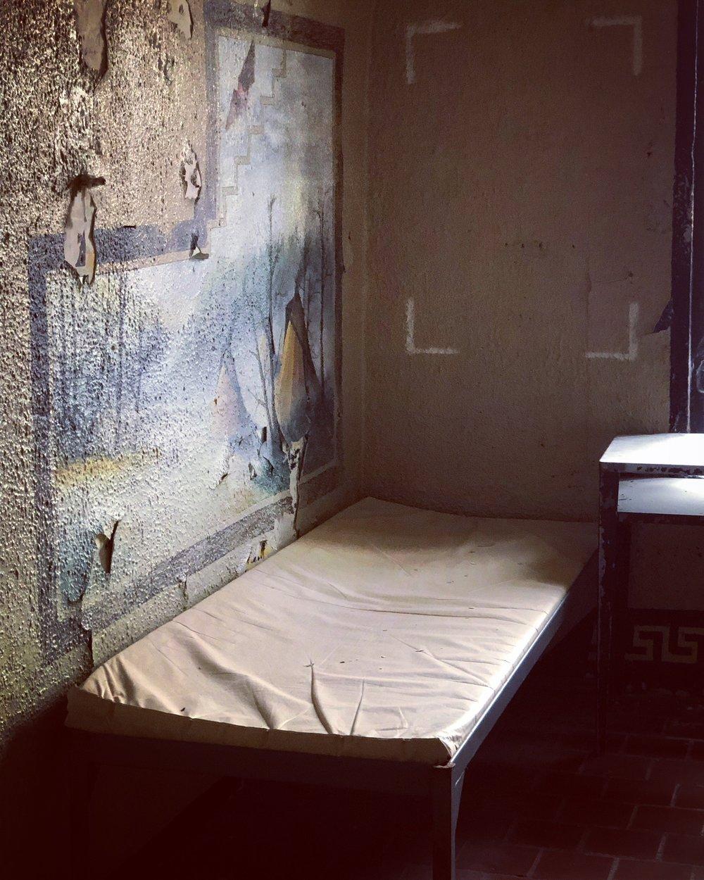 Inmate wall mural