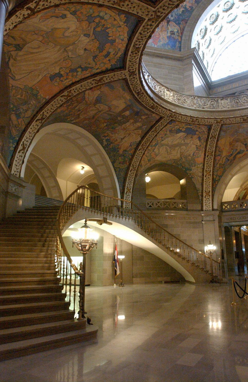Missouri State Capitol Rotunda Murals