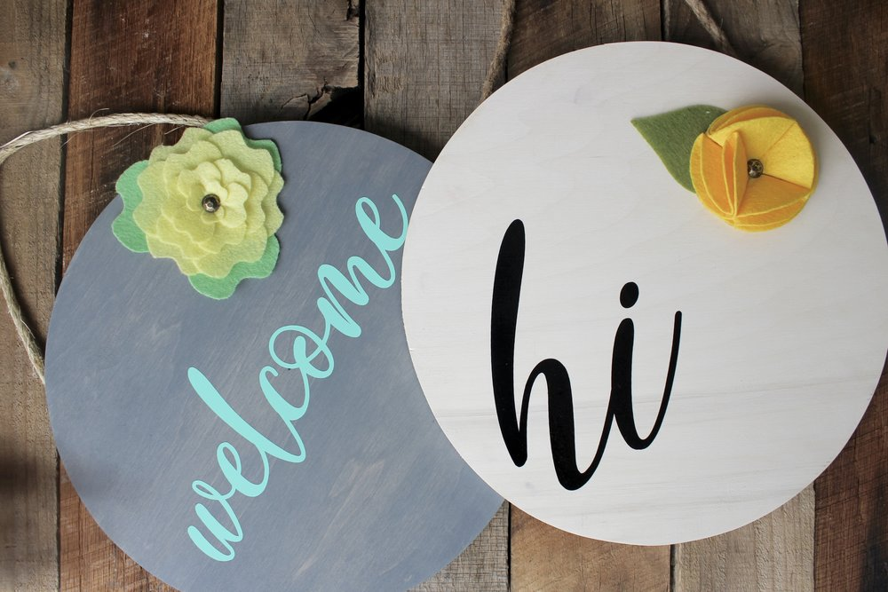 Handcrafted Creations Home Decor Signs