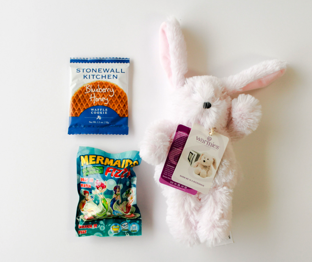 Southbank Gift Company  • Blueberry Honey Waffle Cookie, Mermaid Bath Fizz, Lavender-Scented Warmie Bunny