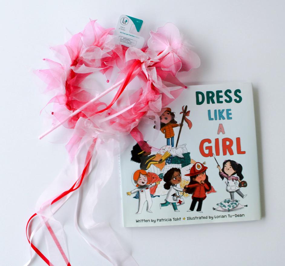 Downtown Book & Toy  • Princess Dress-up Crown & Wand,  Dress Like A Girl