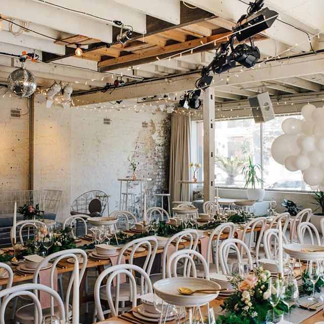 Located in Adelaide city centre, South Australia @chateauapollo is a devoted event space. The 78-year old warehouse serves as the ultimate rustic, blank canvas suitable for events large and small. 📷 @unbridely
