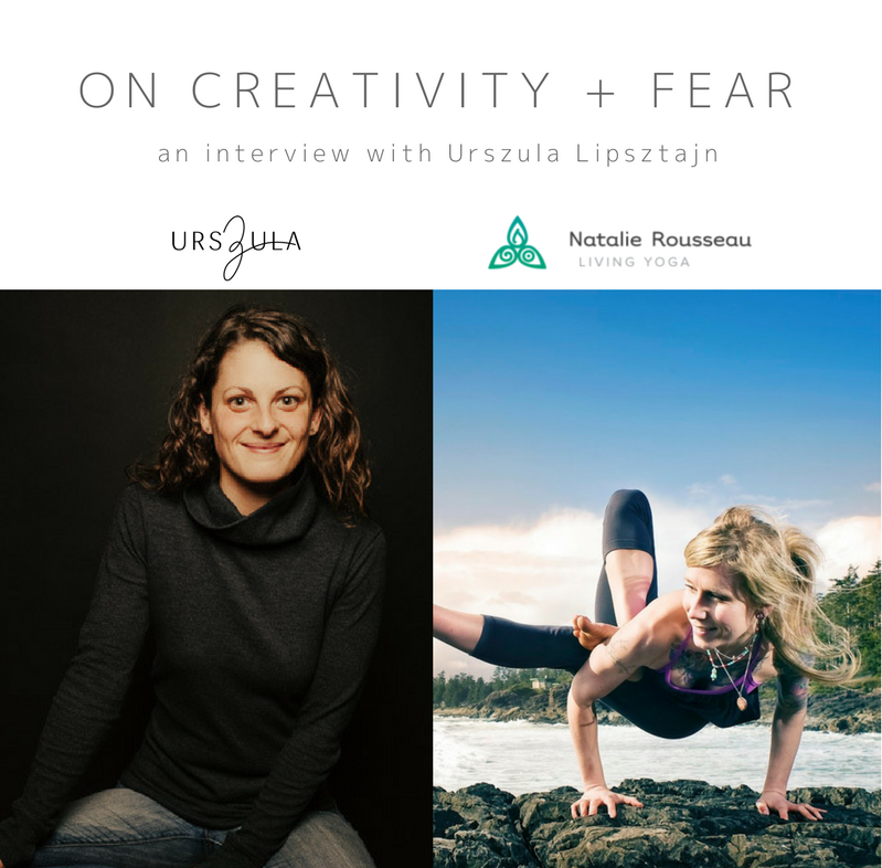 Urszula Lipsztajn - on creativity and fear