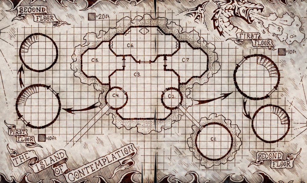 - High quality battle mapsmaps of the city20+ miniaturesoriginal artworkpremium Dungeon Master screencoins / tokens / badges to hand to your charactersAnd much, much more