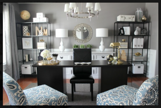 {Turn your living room into a spacious office. From Duo Ventures.}