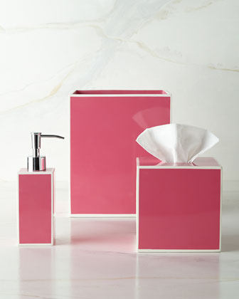{Who says bathroom accessories have to be bland? From  Horchow .}