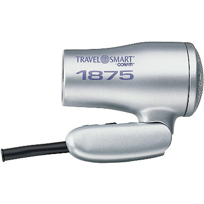 {A folding handle hair dryer makes for uber easy storage between guests. From:  Ulta .}