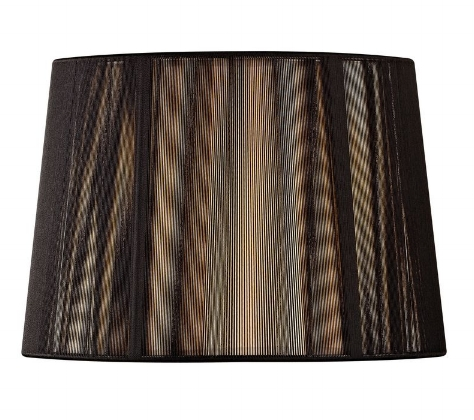 {Sexy and strong, this drum shade is dramatic! From  Destination Lighting .}