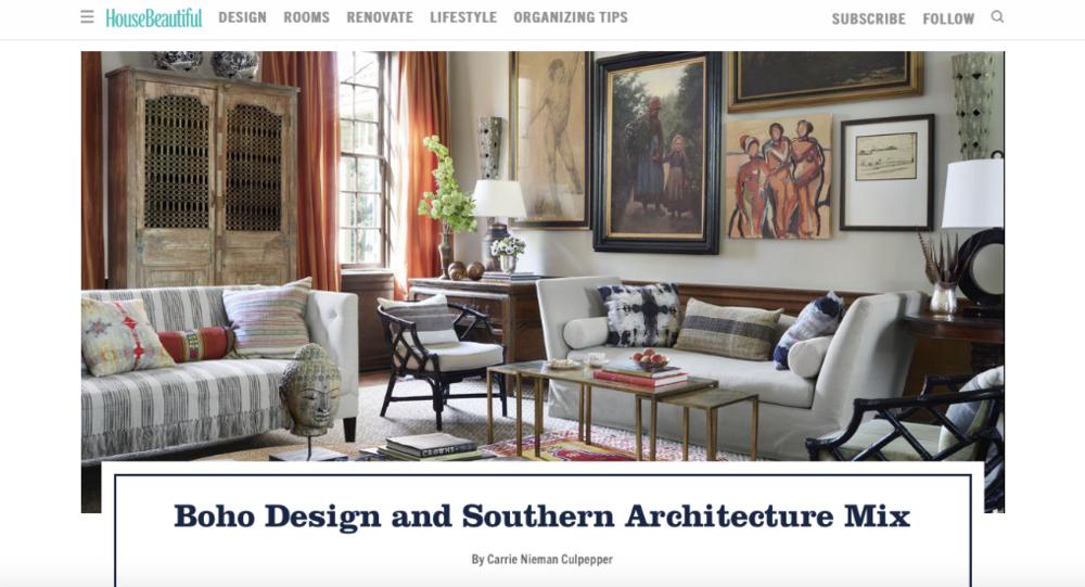 House Beautiful Homepage Website
