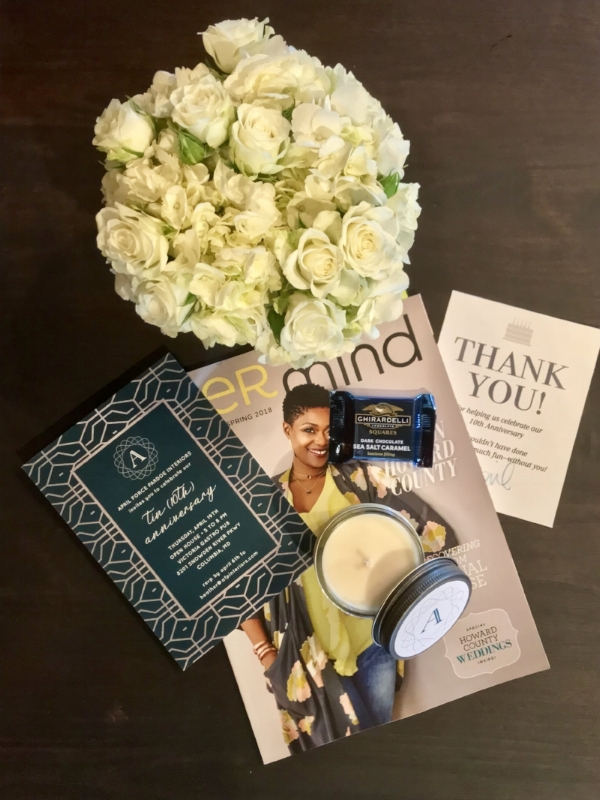 {A few of our favorite things to set the mood! From  Minted ,  Flowers & Fancies ,  LuLu Sugar ,  Her Mind Magazin e and  Ghiradelli .}
